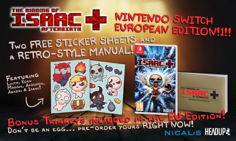 The Binding of Isaac Afterbirth+ Box Inhalte