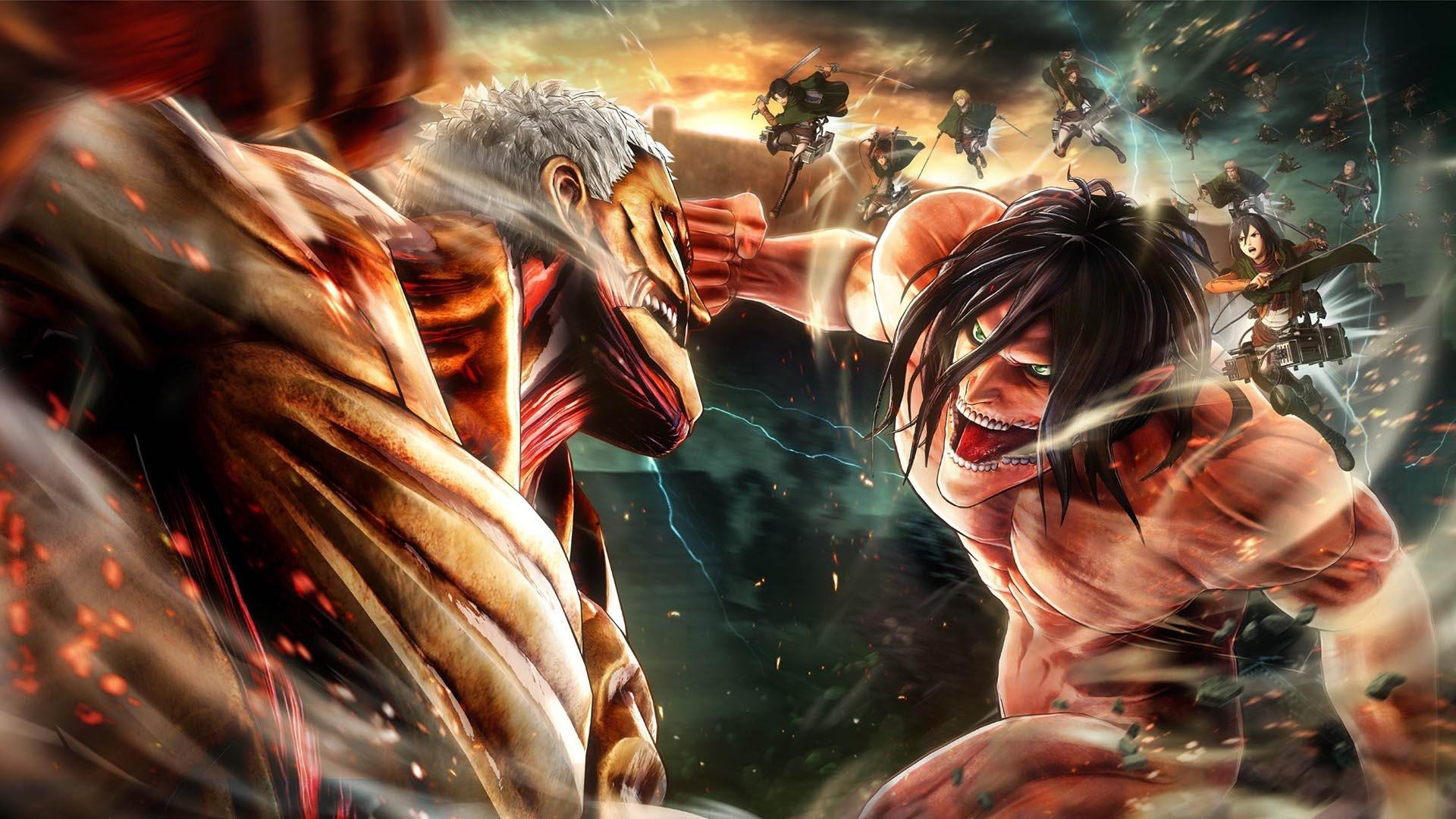A.O.T. 2 Attack on Titan