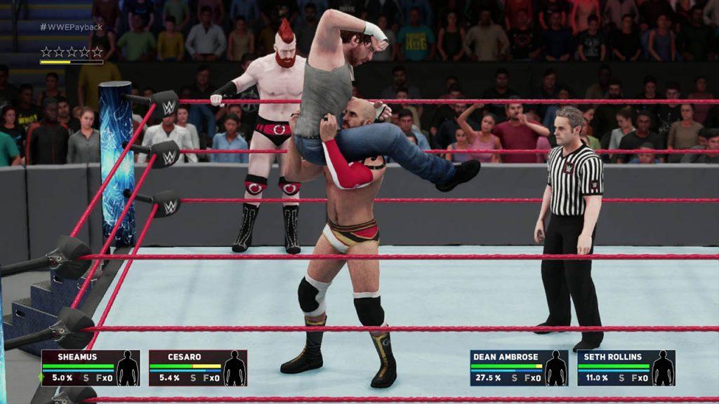 WWE 2K18 Screenshot 01