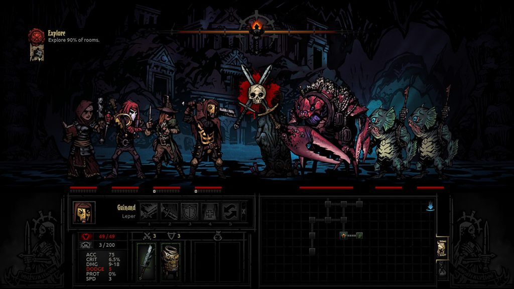 Darkest Dungeon Screenshot 02