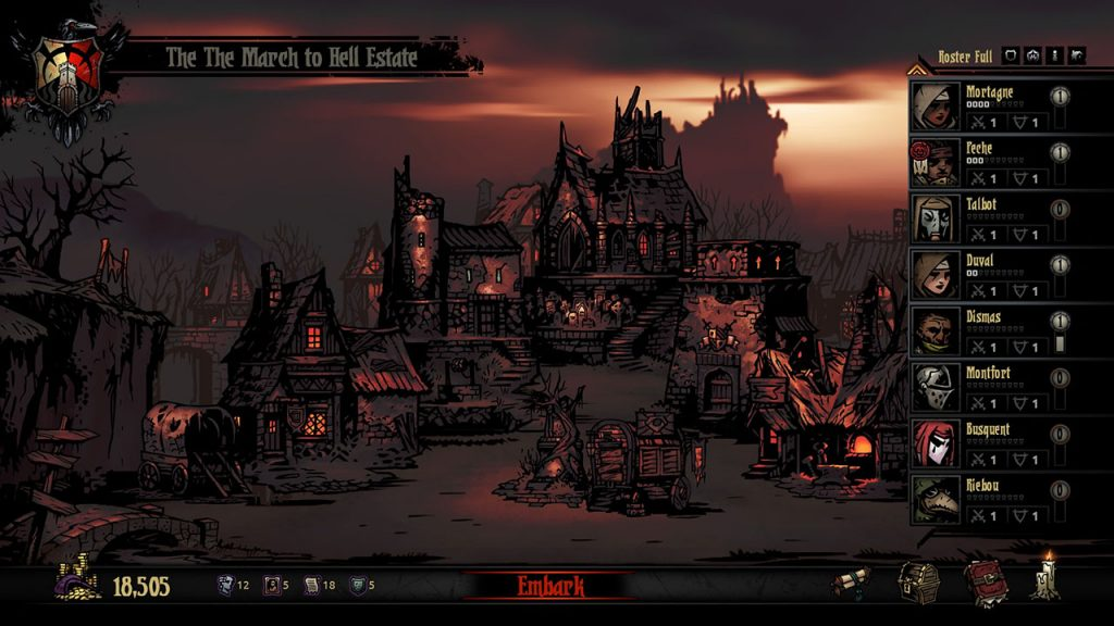 Darkest Dungeon Screenshot 08