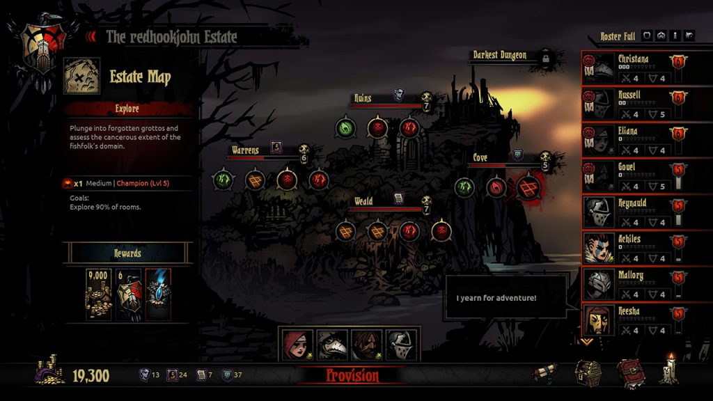 Darkest Dungeon Screenshot 10